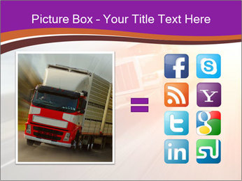 Vehicle And Bright Light PowerPoint Template - Slide 21