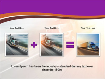 Vehicle And Bright Light PowerPoint Template - Slide 22