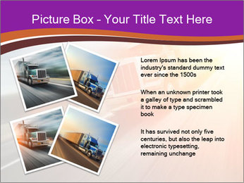 Vehicle And Bright Light PowerPoint Template - Slide 23