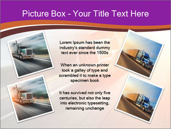Vehicle And Bright Light PowerPoint Template - Slide 24