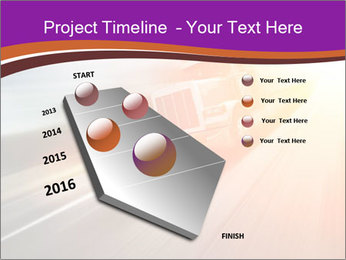 Vehicle And Bright Light PowerPoint Template - Slide 26