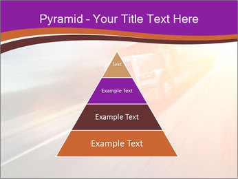 Vehicle And Bright Light PowerPoint Template - Slide 30