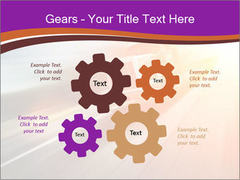 Vehicle And Bright Light PowerPoint Template - Slide 47