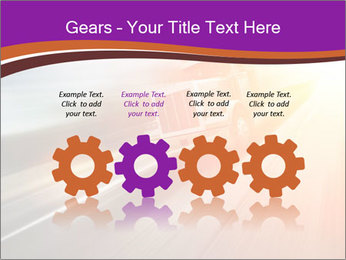 Vehicle And Bright Light PowerPoint Template - Slide 48