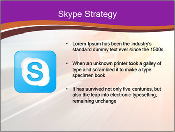 Vehicle And Bright Light PowerPoint Template - Slide 8