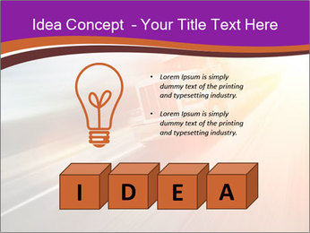 Vehicle And Bright Light PowerPoint Template - Slide 80