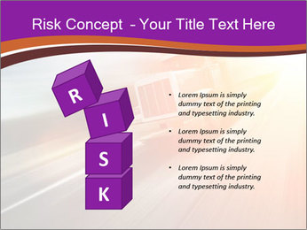 Vehicle And Bright Light PowerPoint Template - Slide 81