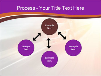 Vehicle And Bright Light PowerPoint Template - Slide 91