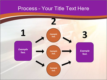 Vehicle And Bright Light PowerPoint Template - Slide 92