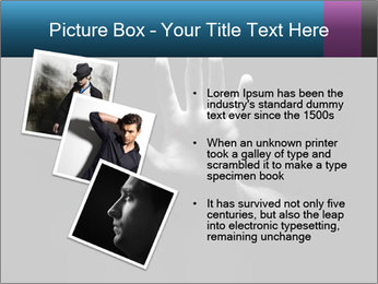 Hand Silhouette PowerPoint Template - Slide 17