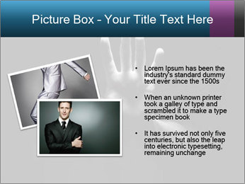 Hand Silhouette PowerPoint Template - Slide 20
