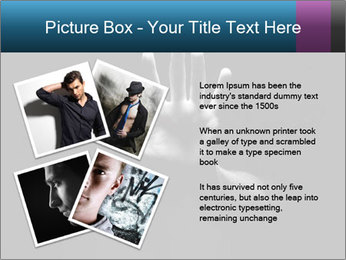 Hand Silhouette PowerPoint Template - Slide 23