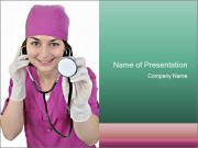 Funny Nurse PowerPoint Templates