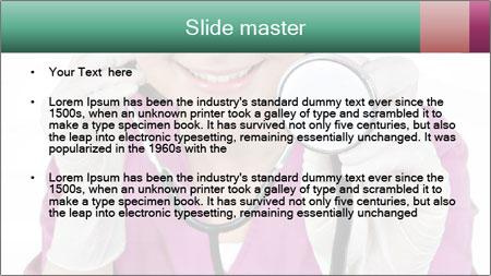 Funny Nurse PowerPoint Template - Slide 2
