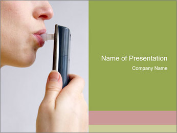 Alcoholometer PowerPoint Template - Slide 1