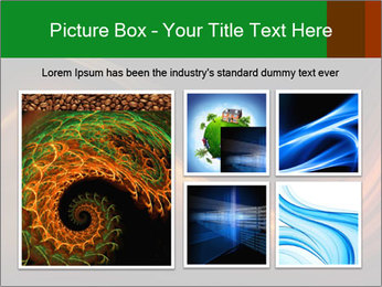 Black And Orange Waves PowerPoint Template - Slide 19
