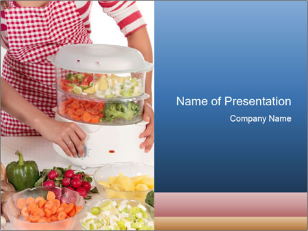 Steamcooker PowerPoint Template