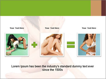 Nude Lady PowerPoint Template - Slide 22