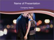 Romantic Moment For Couple PowerPoint Templates