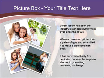 Romantic Moment For Couple PowerPoint Template - Slide 23
