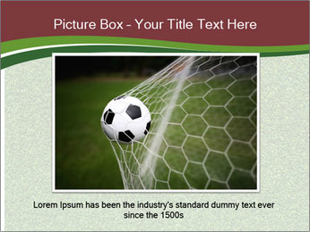 Grass On Baseball Field PowerPoint Template - Slide 15