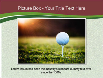 Grass On Baseball Field PowerPoint Template - Slide 16