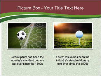 Grass On Baseball Field PowerPoint Template - Slide 18