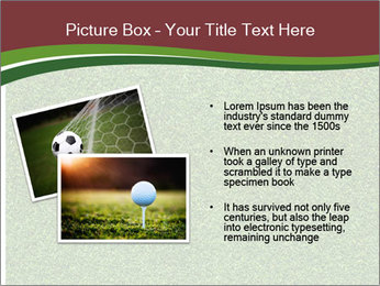 Grass On Baseball Field PowerPoint Templates - Slide 20
