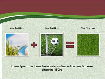 Grass On Baseball Field PowerPoint Template - Slide 22