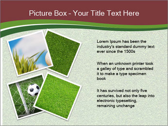 Grass On Baseball Field PowerPoint Template - Slide 23
