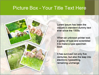 Mother With Kids In Park PowerPoint Templates - Slide 23