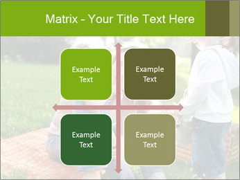 Mother With Kids In Park PowerPoint Templates - Slide 37