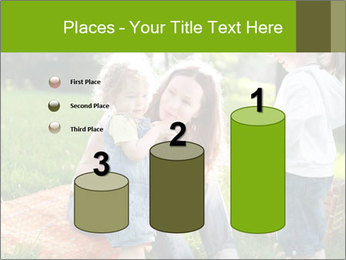 Mother With Kids In Park PowerPoint Templates - Slide 65