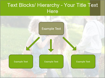 Mother With Kids In Park PowerPoint Templates - Slide 69