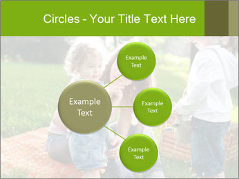 Mother With Kids In Park PowerPoint Templates - Slide 79
