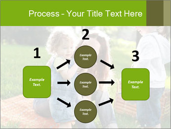 Mother With Kids In Park PowerPoint Templates - Slide 92