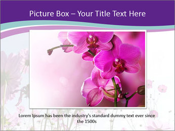 Pink Flower Blossom PowerPoint Template - Slide 15