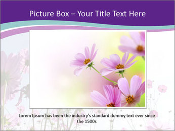 Pink Flower Blossom PowerPoint Template - Slide 16