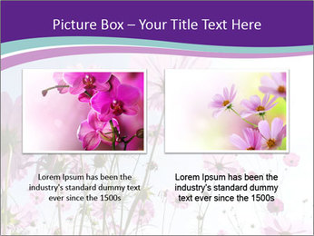 Pink Flower Blossom PowerPoint Template - Slide 18