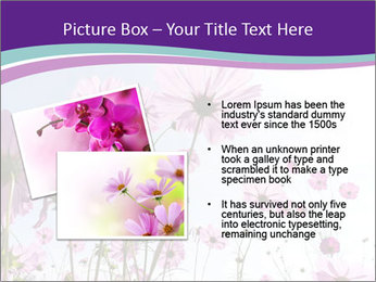 Pink Flower Blossom PowerPoint Template - Slide 20