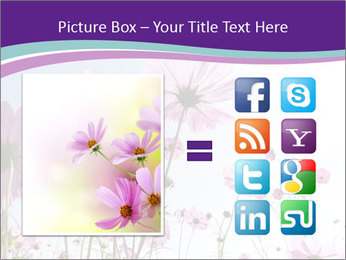 Pink Flower Blossom PowerPoint Template - Slide 21