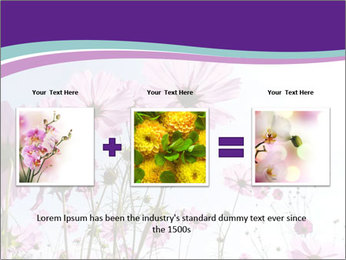 Pink Flower Blossom PowerPoint Template - Slide 22