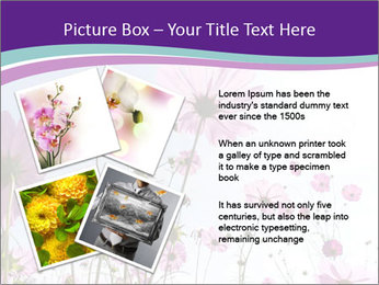 Pink Flower Blossom PowerPoint Template - Slide 23