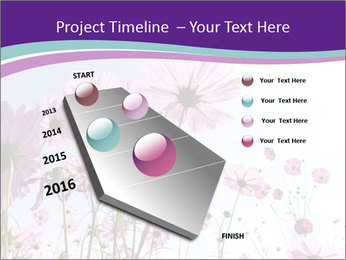 Pink Flower Blossom PowerPoint Templates - Slide 26
