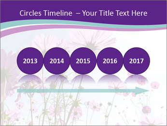 Pink Flower Blossom PowerPoint Template - Slide 29