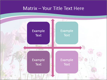 Pink Flower Blossom PowerPoint Template - Slide 37