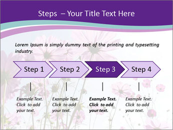 Pink Flower Blossom PowerPoint Template - Slide 4