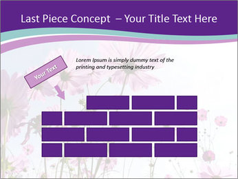 Pink Flower Blossom PowerPoint Template - Slide 46