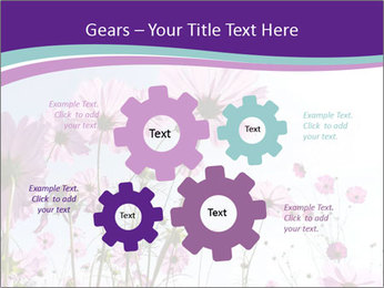 Pink Flower Blossom PowerPoint Templates - Slide 47