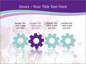 Pink Flower Blossom PowerPoint Templates - Slide 48
